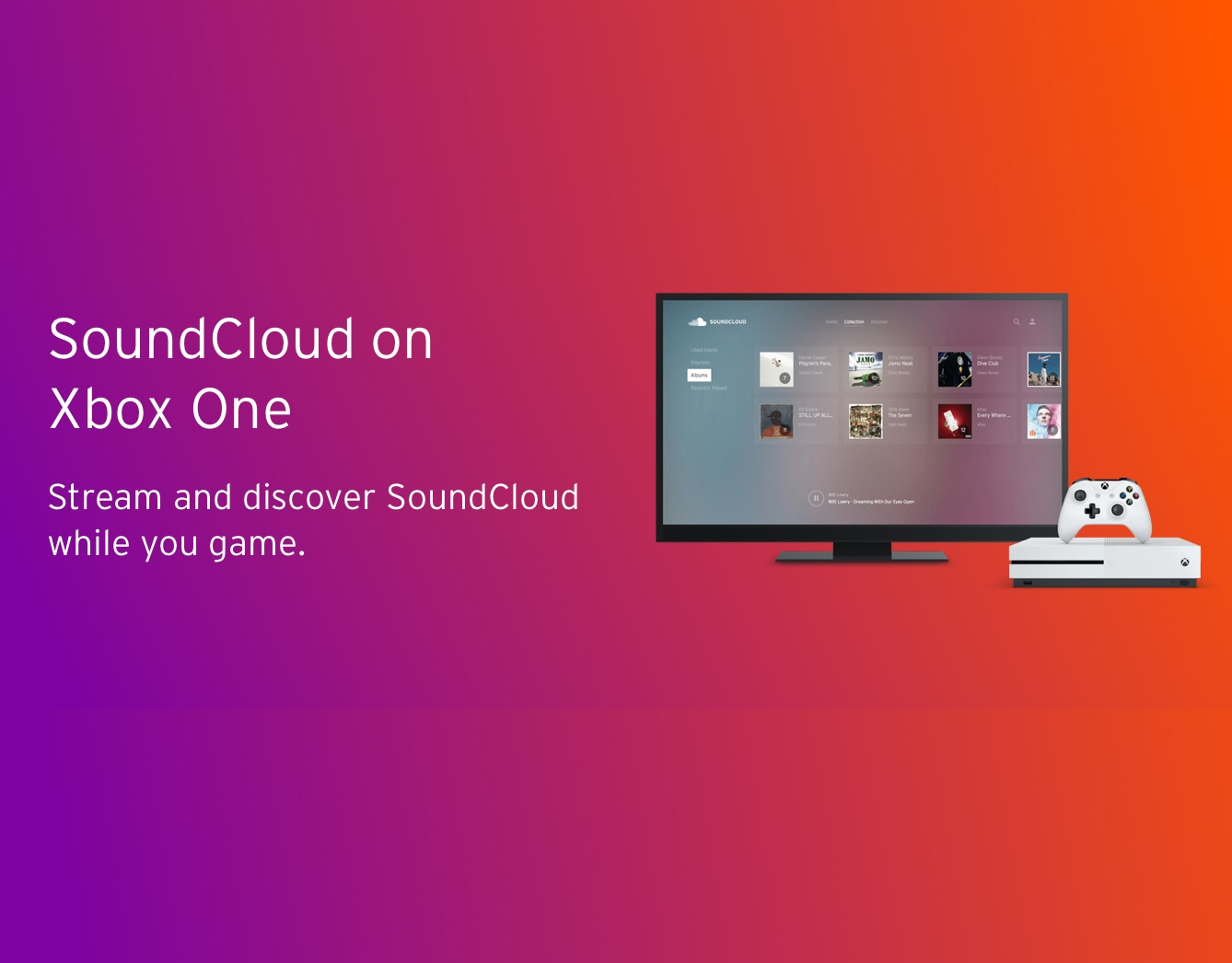 SoundCloud on Xbox