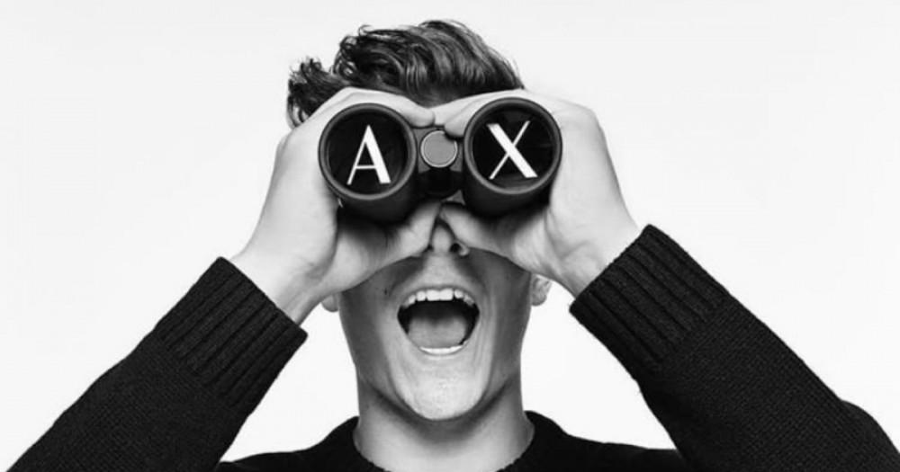 Фото для рекламной кампании Armani Exchange