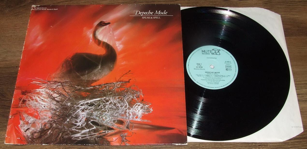 depeche mode Speak and Spell альбом