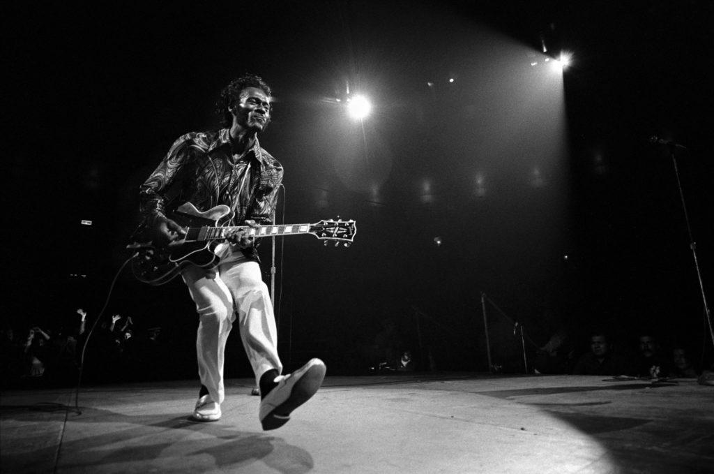 Chuck Berry оказал огромное влияние на всю рок-музыку