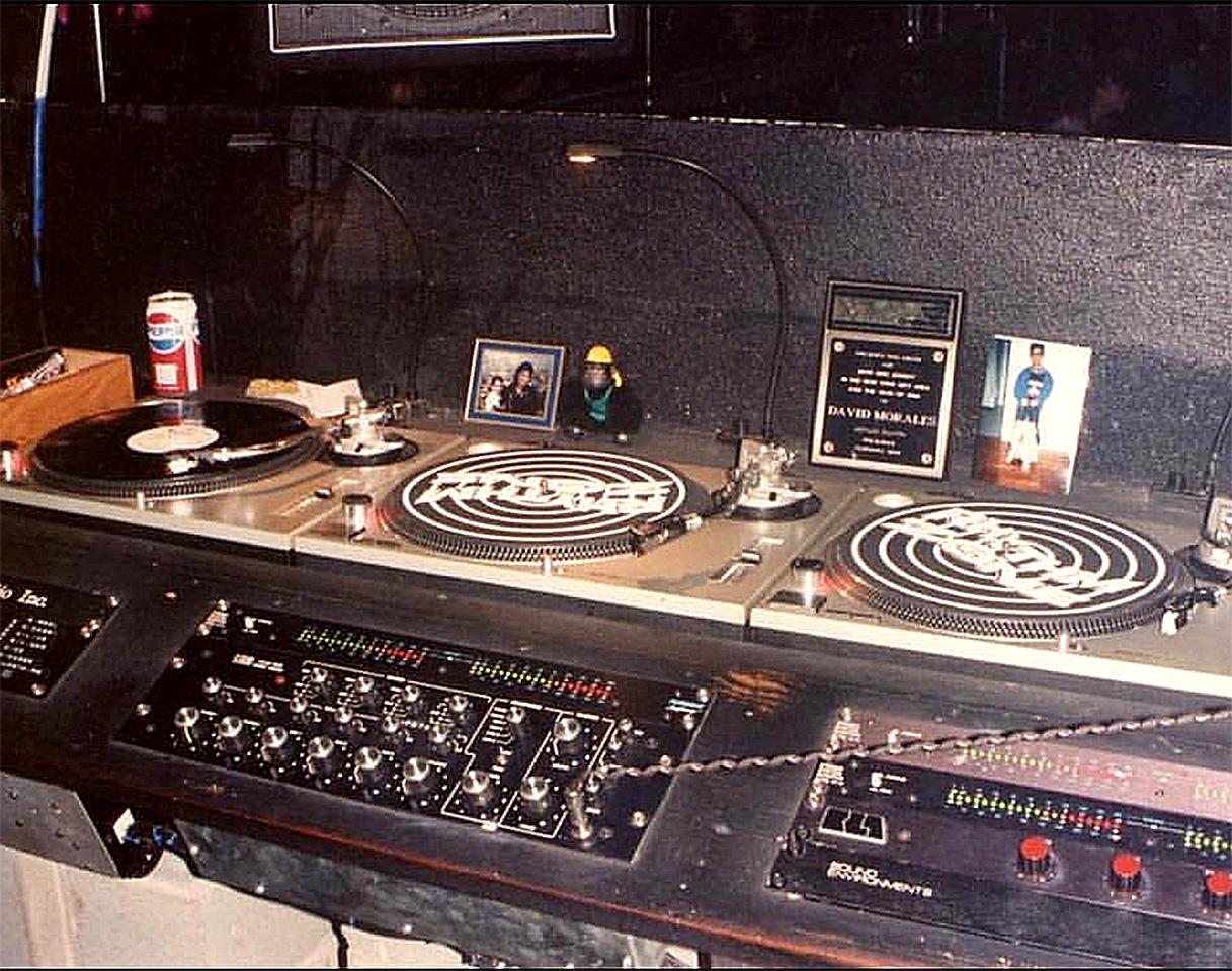 Начало Профессиональная студия диджея 1970 год