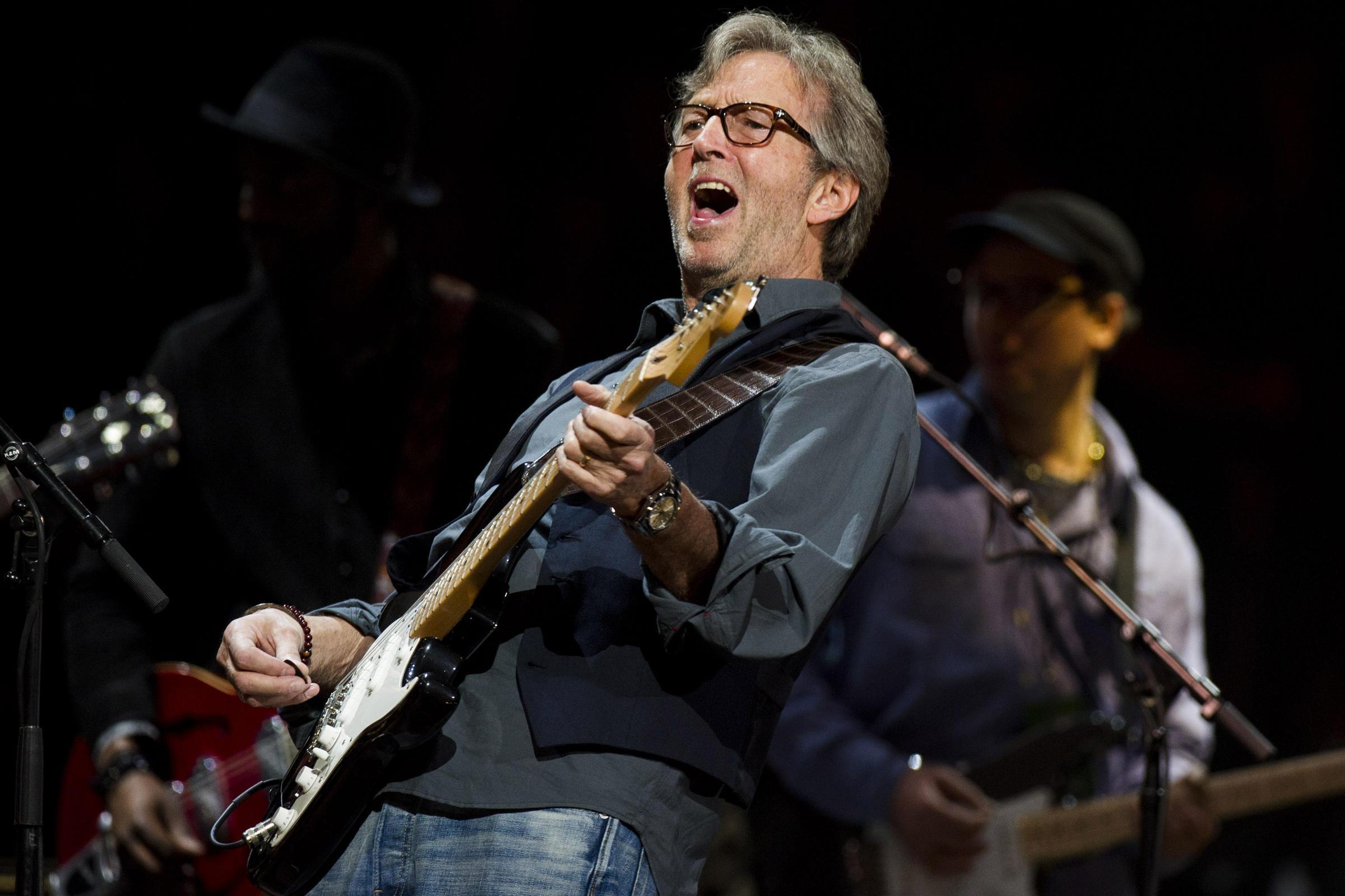 Эрик Клэптон - настоящий «guitar hero» герой гитары