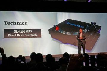 Technics показала новый проигрыватель SL-1200 MK7